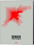 Denver Radiant Map 1 Fine-Art Print