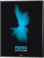 Phoenix Radiant Map 3 Fine-Art Print