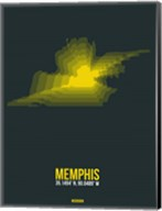 Memphis Radiant Map 1 Fine-Art Print