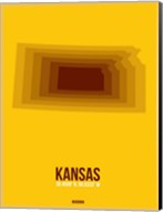 Kansas Radiant Map 2 Fine-Art Print