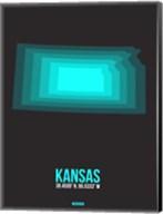 Kansas Radiant Map 5 Fine-Art Print
