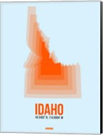 Idaho Radiant Map 1 Fine-Art Print