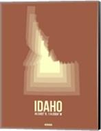 Idaho Radiant Map 2 Fine-Art Print