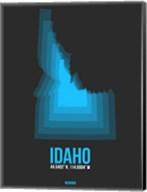 Idaho Radiant Map 4 Fine-Art Print