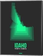 Idaho Radiant Map 5 Fine-Art Print