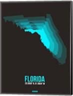 Florida Radiant Map 6 Fine-Art Print