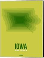Iowa Radiant Map 2 Fine-Art Print