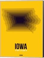 Iowa Radiant Map 3 Fine-Art Print