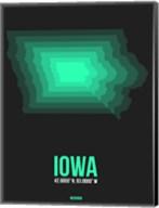 Iowa Radiant Map 5 Fine-Art Print