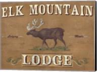Lodge Sign III Fine-Art Print