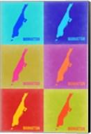 Manhattan Pop Art Map 3 Fine-Art Print