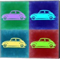 VW Beetle Pop Art 3 Fine-Art Print
