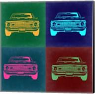 Chevy Camaro Pop Art 2 Fine-Art Print