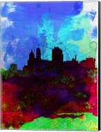 Cincinnati Watercolor Skyline Fine-Art Print