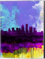 Louisville Watercolor Skyline Fine-Art Print