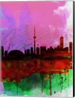 Toronto Watercolor Skyline Fine-Art Print