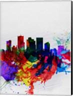 Phoenix Watercolor Skyline 2 Fine-Art Print