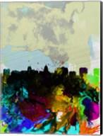 Madison Watercolor Skyline Fine-Art Print