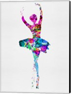 Ballerina Watercolor 1 Fine-Art Print