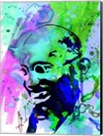 Gandhi Watercolor 2 Fine-Art Print