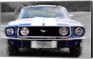 1968 Ford mustang Front End Fine-Art Print