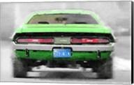 Dodge Challenger Rear Fine-Art Print
