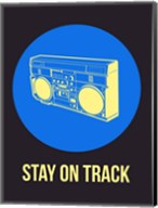 Stay On Track BoomBox 2 Fine-Art Print