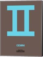 Gemini Zodiac Sign Blue Fine-Art Print