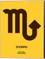 Scorpio Zodiac Sign Brown Fine-Art Print