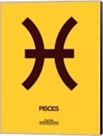Pisces Zodiac Sign Brown Fine-Art Print
