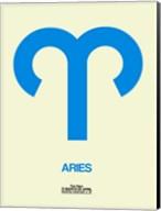 Aries Zodiac Sign Blue Fine-Art Print