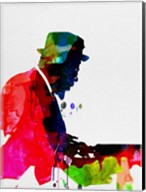 Thelonious Watercolor Fine-Art Print