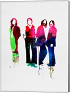 Beatles Watercolor Fine-Art Print