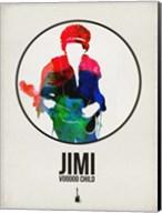 Jimi Watercolor Fine-Art Print