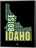 Idaho Word Cloud 1 Fine-Art Print