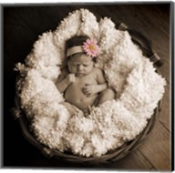 Baby in Basket 2 Fine-Art Print