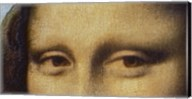 Mona Lisa - Detail Of Eyes Fine-Art Print