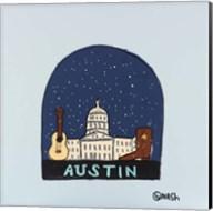 Austin Snow Globe Fine-Art Print