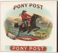 Pony Post Fine-Art Print