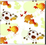 Cows and Ducks Fine-Art Print