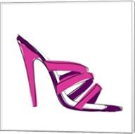 Pink High Heel Sandal Fine-Art Print
