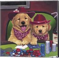 Poker Dogs Fine-Art Print