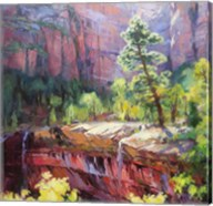 Last Light in Zion Fine-Art Print