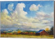 Lonesome Barn Fine-Art Print