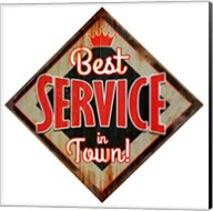 Best Service Diamond Fine-Art Print