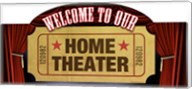 Home Theater Marquee Fine-Art Print