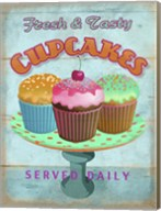 Cupcakes Retro Fresh Fine-Art Print