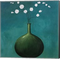 Vase on Blue Fine-Art Print
