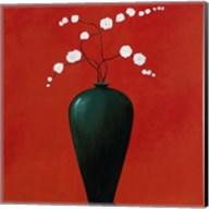 Vase on Red Fine-Art Print