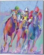 Horse Race 2 Fine-Art Print